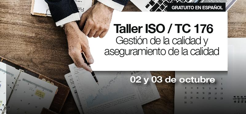 Taller virtual Comité Técnico de ISO/TC 176