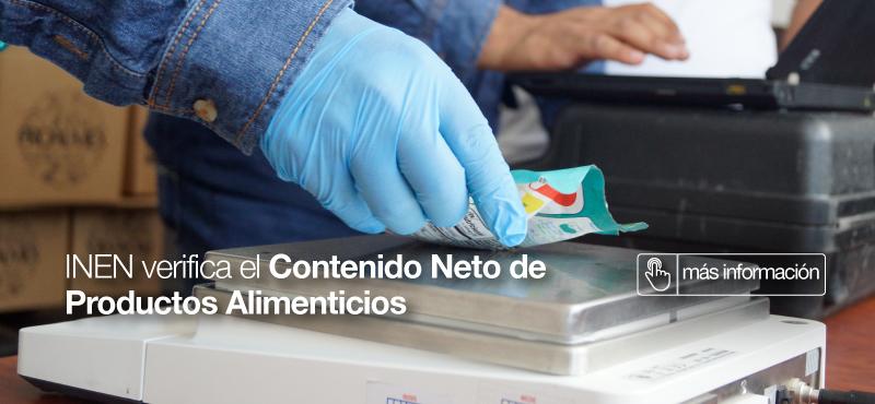 INEN verifica el Contenido Neto de Productos Alimenticios